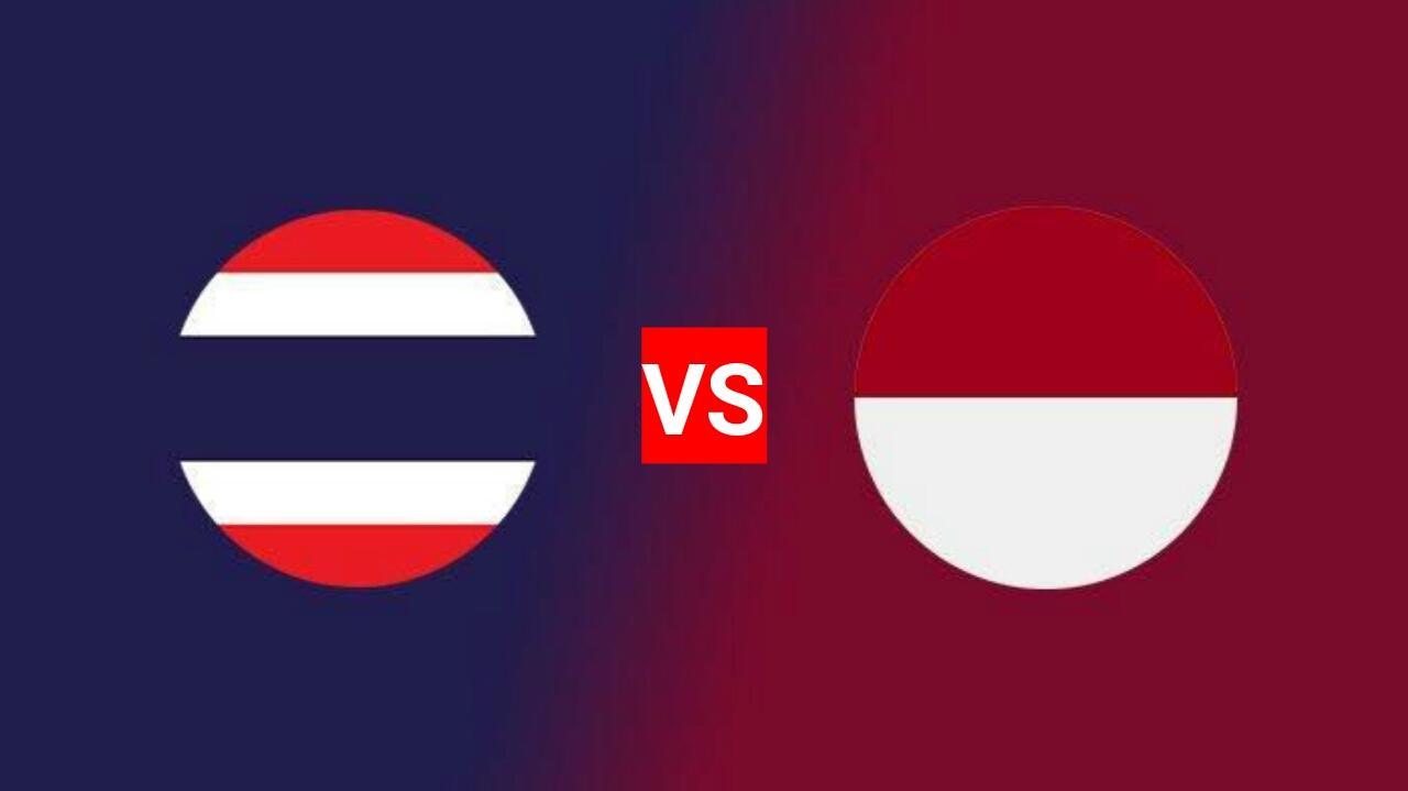 Jadwal Thailand U-23 vs Indonesia U-23 Kualifikasi AFC 2020