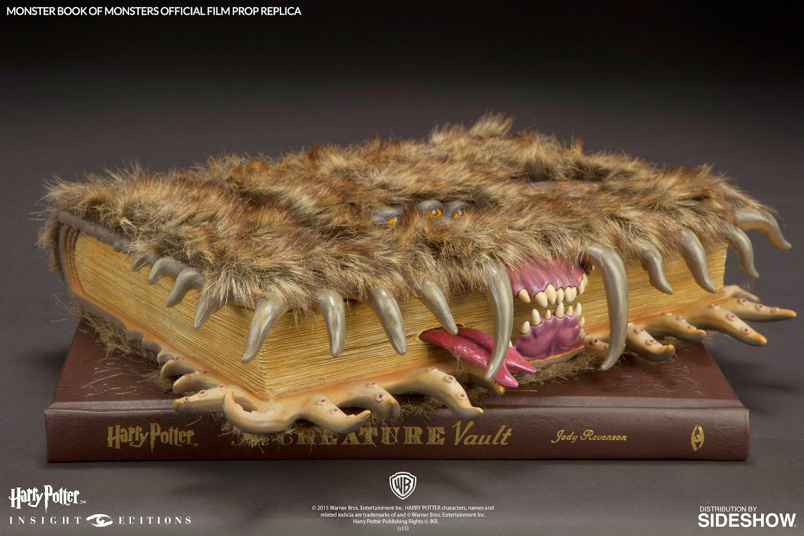 harry potter monster book replica