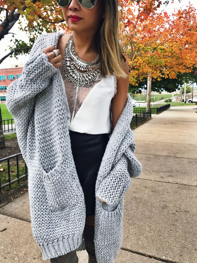 How to style a cardigan three ways, The Best Cozy Cardigan, Gray Cozy Cardigan, How to Style a Cardigan