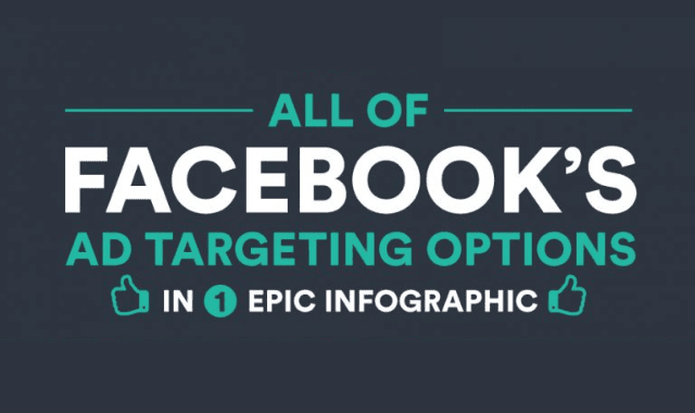All Of Facebook's Ad Targeting Options In Epic Infographic