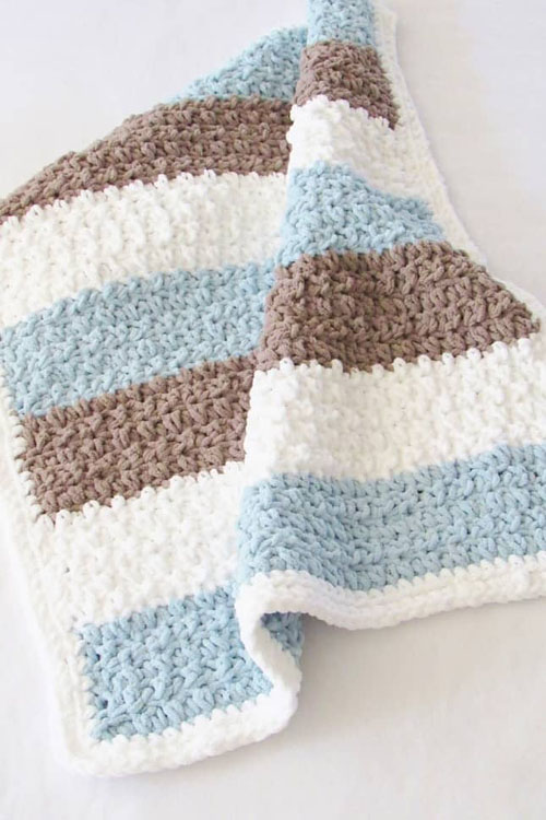 Four Hour Crochet Blanket - Free Pattern