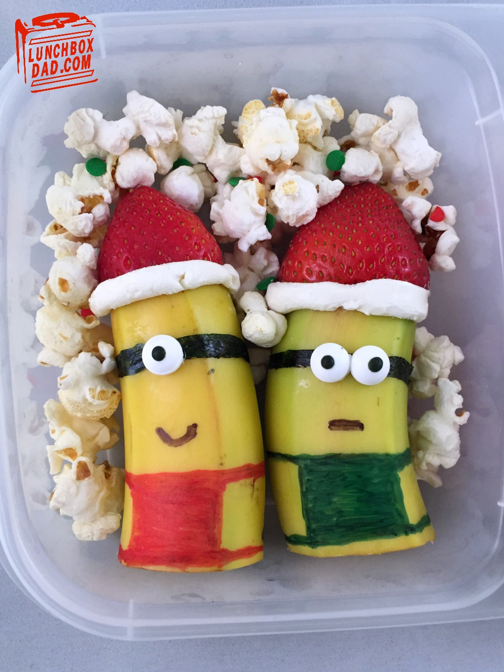 Christmas Minions Lunch Despicable Me