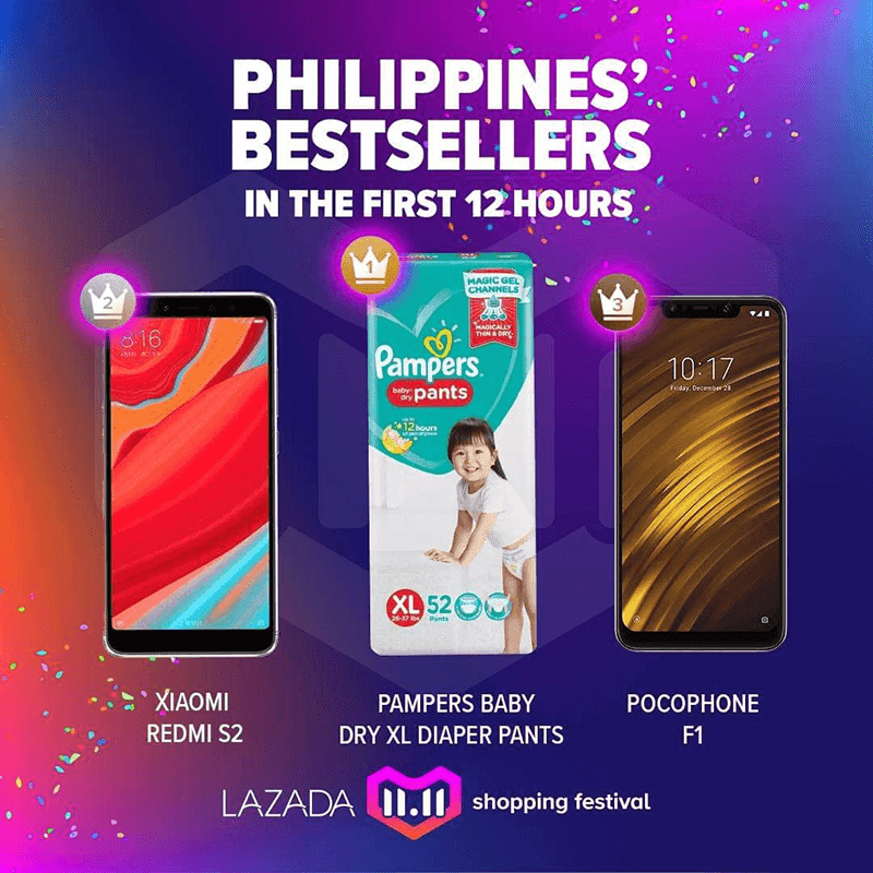 Pampers is Philippines's bestseller!