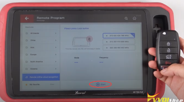 Xhorse Key Tool Plus Remote Online-cloud Recognition 8
