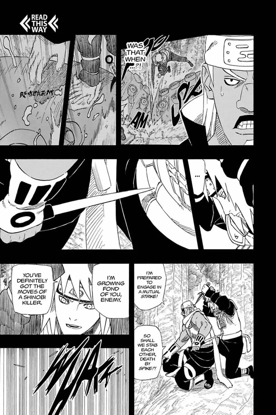 Itachi vs Killer Bee: Destrinchando a luta! 003