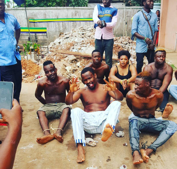 """Zubby Michael plays armed robber role on movie set, hear what he said after """"arrest"""""""