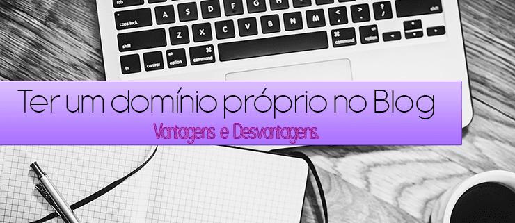 domínio próprio no Blogger