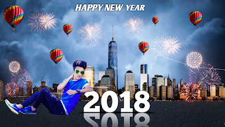 Happy New Year - 2018 || New year Editing|| PicsArt Photo Editing || PicsArt Manipulation Editing
