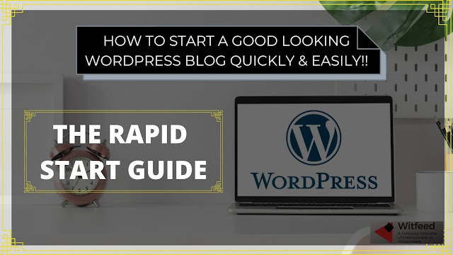 HOW TO START & MAKE A WORDPRESS BLOG EASILY & QUICKLY