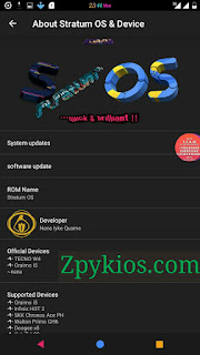 Stratum OS 2.0 Rom For Tecno W4 and Infinix Hot 2