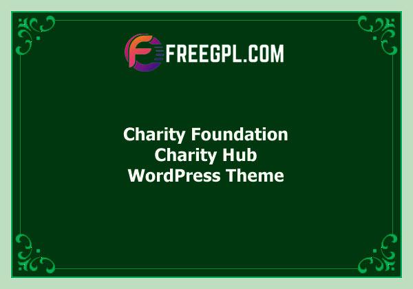 Charity Foundation - WordPress Theme Free Download
