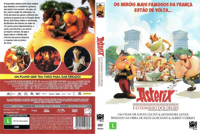 Capa DVD Asterix O Domínio Dos Deuses