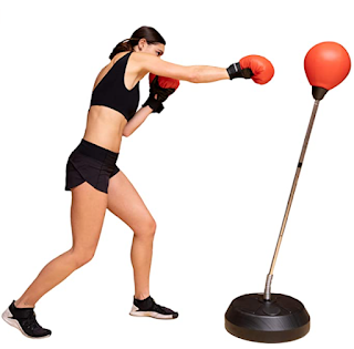 Home Punching bag, workout punching bag, punching bag with stand