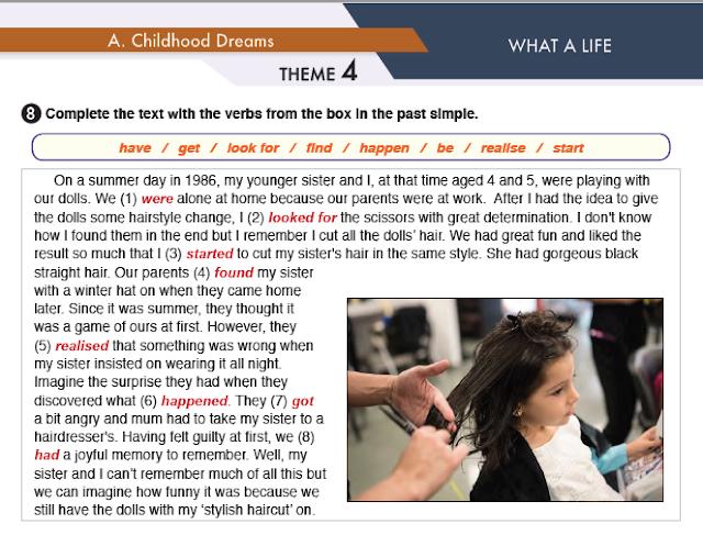 11. Sınıf MEB Yayınları İngilizce Çalışma Kitabı Silver Lining 31. Sayfa Cevapları What A Life