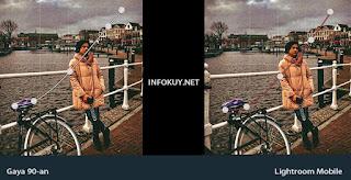 CURVE- Cara Membuat  Efek Foto 90-an