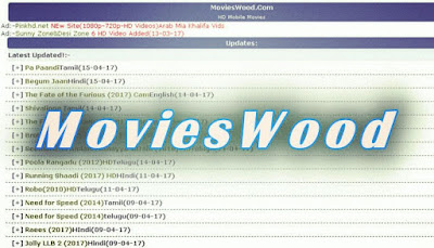 MoviesWood 2019: Download Latest Telugu, Tamil, Hindi, Malayalam Movies