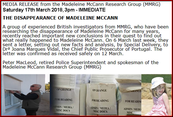 "Portuguese Attorney General receives ""new theory"" in disappearance of Madeleine McCann  Peters%2Bnew%2Bmedia%2Brelease%2Bsat%2B17th"
