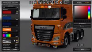 DAF Euro 6 Low Bar V 1.25 & 1.26