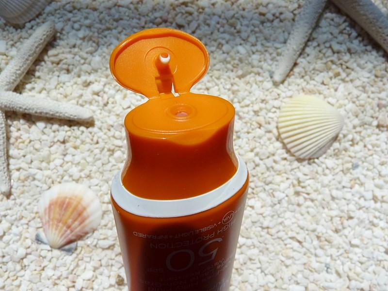 LANCASTER Sun Sensitive Luminous Tan Comforting Cream SPF50 + opakowanie