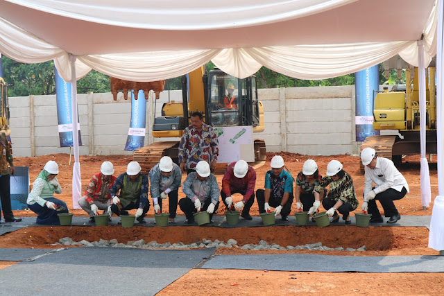 Groundbreaking GIPTI di BSD City