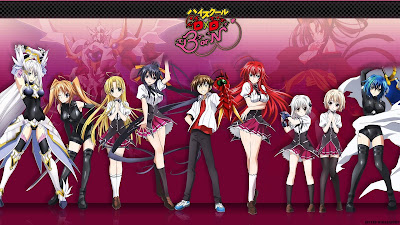 Download High School DxD Born  Episode 1 - 12 + Special Subtitle Indonesia