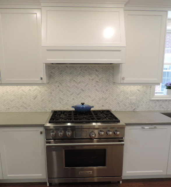 Herringbone Backsplash Toronto