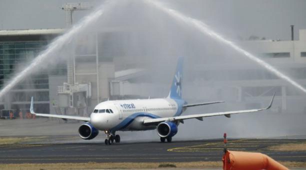 Aerolínea mexicana Interjet inicia vuelos directos a Ecuador