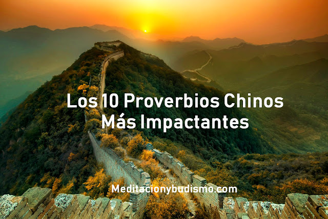 10 Proverbios Chinos que te cambiaran la vida