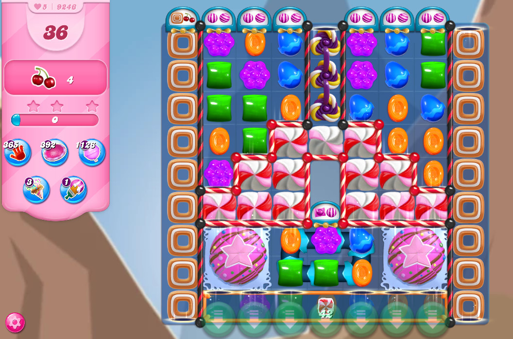 Candy Crush Saga level 9246