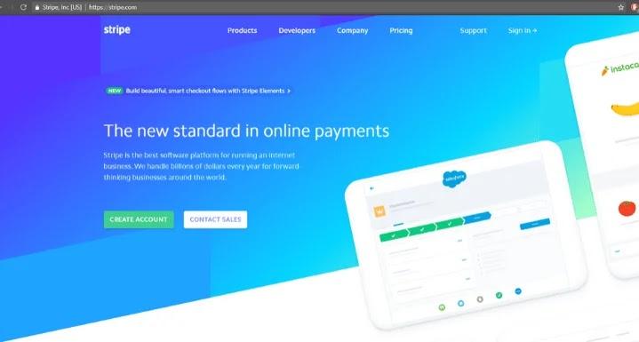 Accept Payment via Stripe