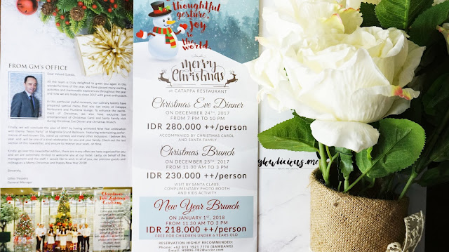 Catappa Restaurant - Grand Mercure Hotel Kemayoran - Christmas n Newyear Package Promo
