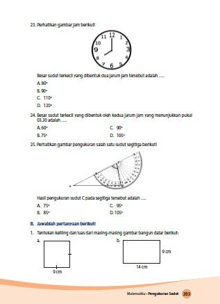 Kunci Jawaban Buku Siswa Senang Belajar Matematika Kelas 4