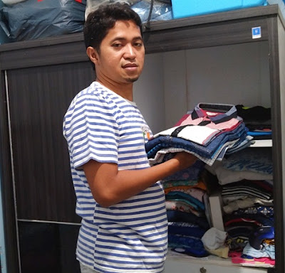 sortir pakaian
