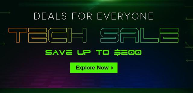 Promoção Tech Sales na Geekbuying