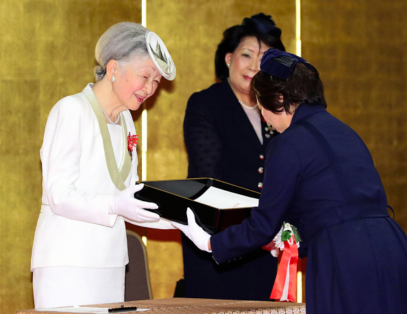 royal family around the world japanese royal family members attend florence nightingale medal. Black Bedroom Furniture Sets. Home Design Ideas
