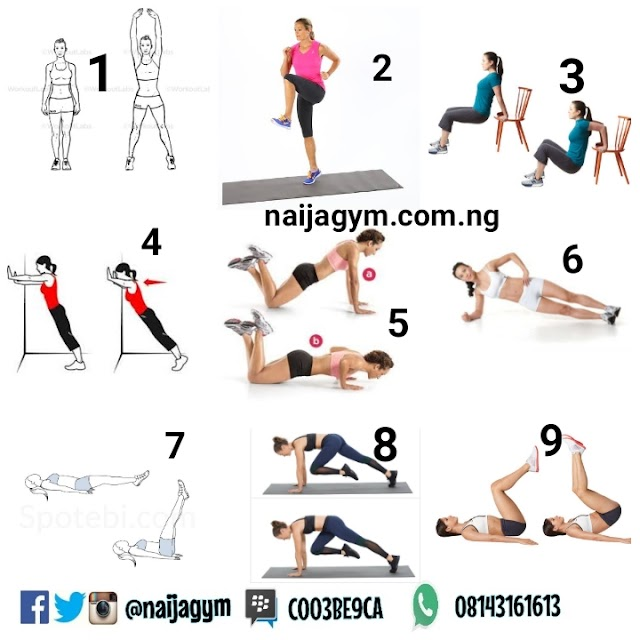 TGIF 18/10 Workout plan