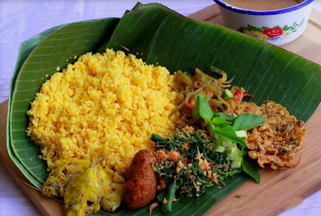 kuliner nusantara nasi jagung sego empog makanan ndeso ikan asin nostalgia