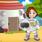 G4K Scientist Girl Rescue Game