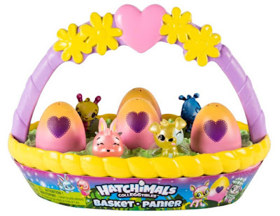 Hatchimals children's Easter toys basket