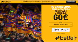 betfair supercuota liga Barcelona gana Valencia 25 enero 2020