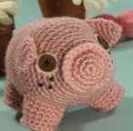Cerdo, Pork, Pig, Amigurumi