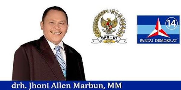 Diduga Khianat, Alasan Demokrat Pecat Jhoni Allen Marbun Cs
