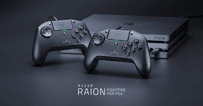 كشفت شركة Razer عن يد تحكم احترافية Raion للبلاستيشن 4
