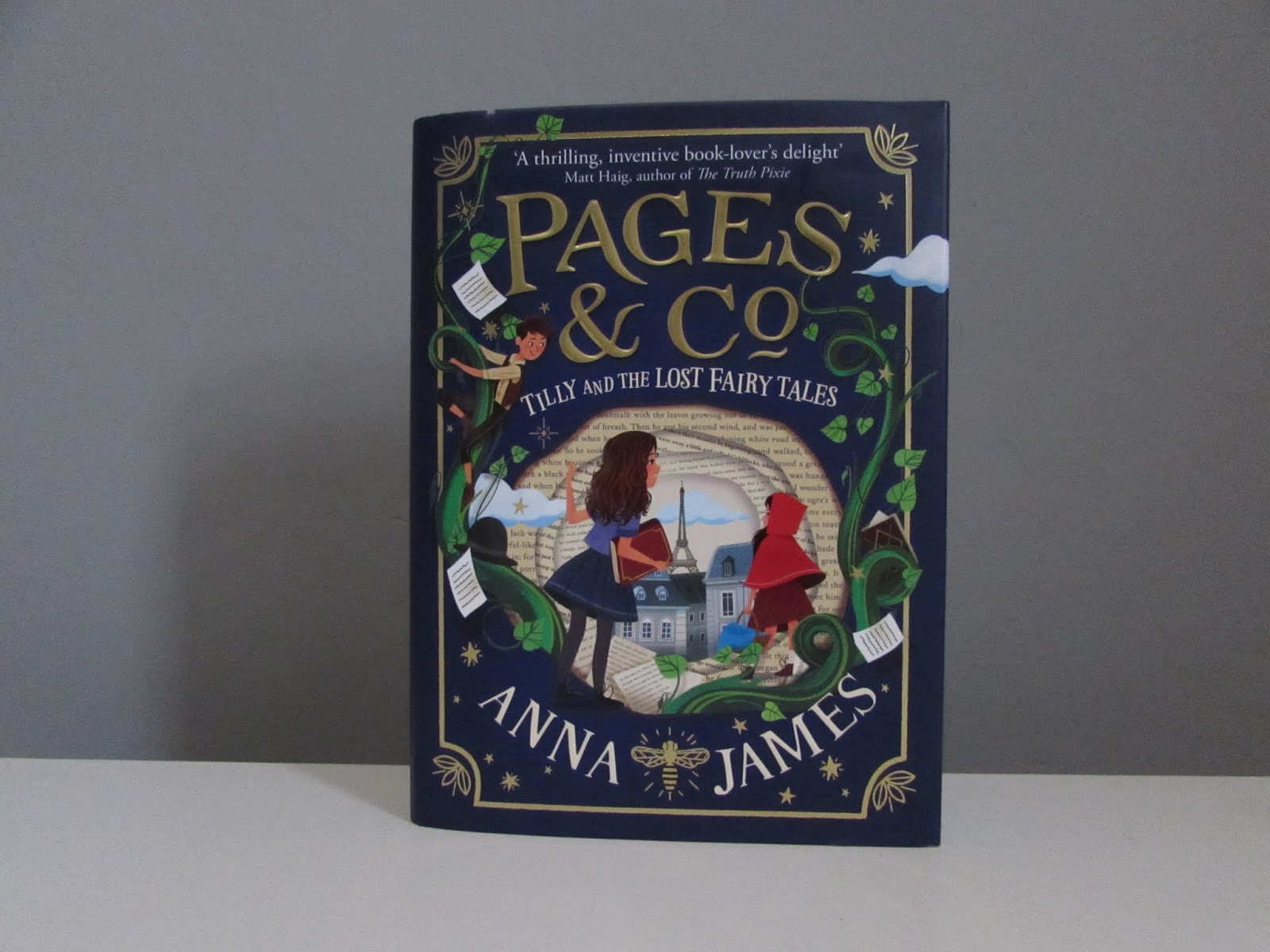 Reading Record | Pages & Co: Tilly and the Lost Fairytales by Anna James