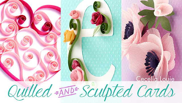 Quilled and Sculpted Cards