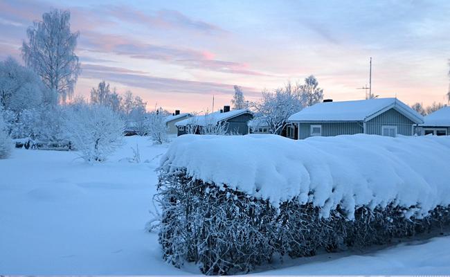 Salju Swedia