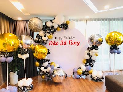 trang trí sinh nhật người lớn tại Hà Nội