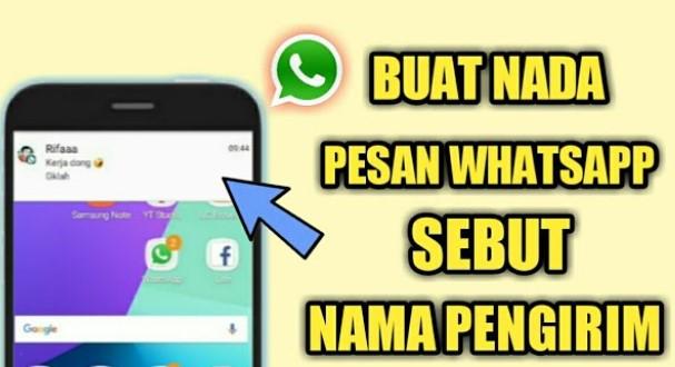 Cara Buat Nada Dering WhatsApp Ada Namanya