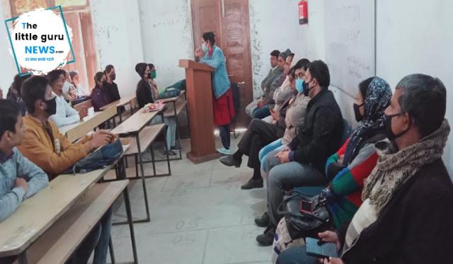 Orientation class organized in LND College