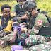TNI di Wilayah Kab. Puncak Jaya memberikan bantuan kesehatan untuk masyarakat di Pedalaman Papua